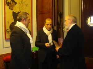 Eric e Guido con Pippo Franco