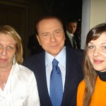 Claudia Loredana e Berlusconi